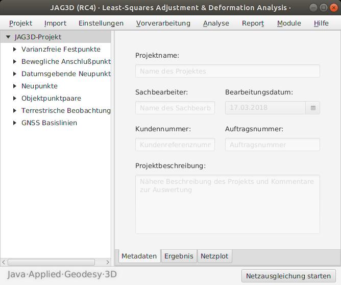 JAG3D unter Ubuntu (Linux)